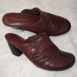 BareTraps Hilly leather mules EUC